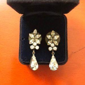 Jewelry - Diamond drop earrings